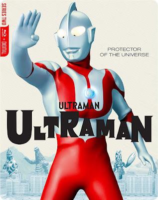 Ultraman Complete Series Bluray Steelbook