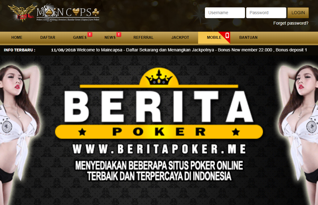 Agen Capsa Susun, Capsa Susun Online, Judi Online, Poker Online, Main capsa