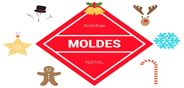 Moldes: Enfeites para Árvore de Natal