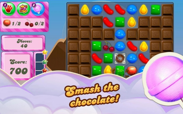 candy crush saga chocolate