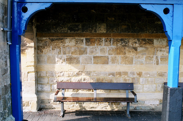 RNLI station bench, Deal, Kent