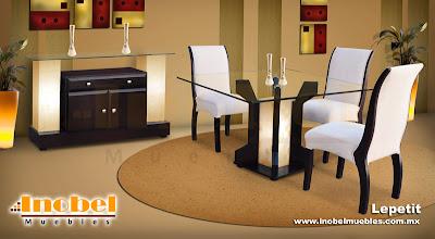 Muebles modernos m xico comedores modernos minimalistas for Comedores minimalistas