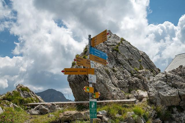 Fürstin-Gina-Weg  Augstenberg und Pfälzerhütte  Wandern in Liechtenstein 13