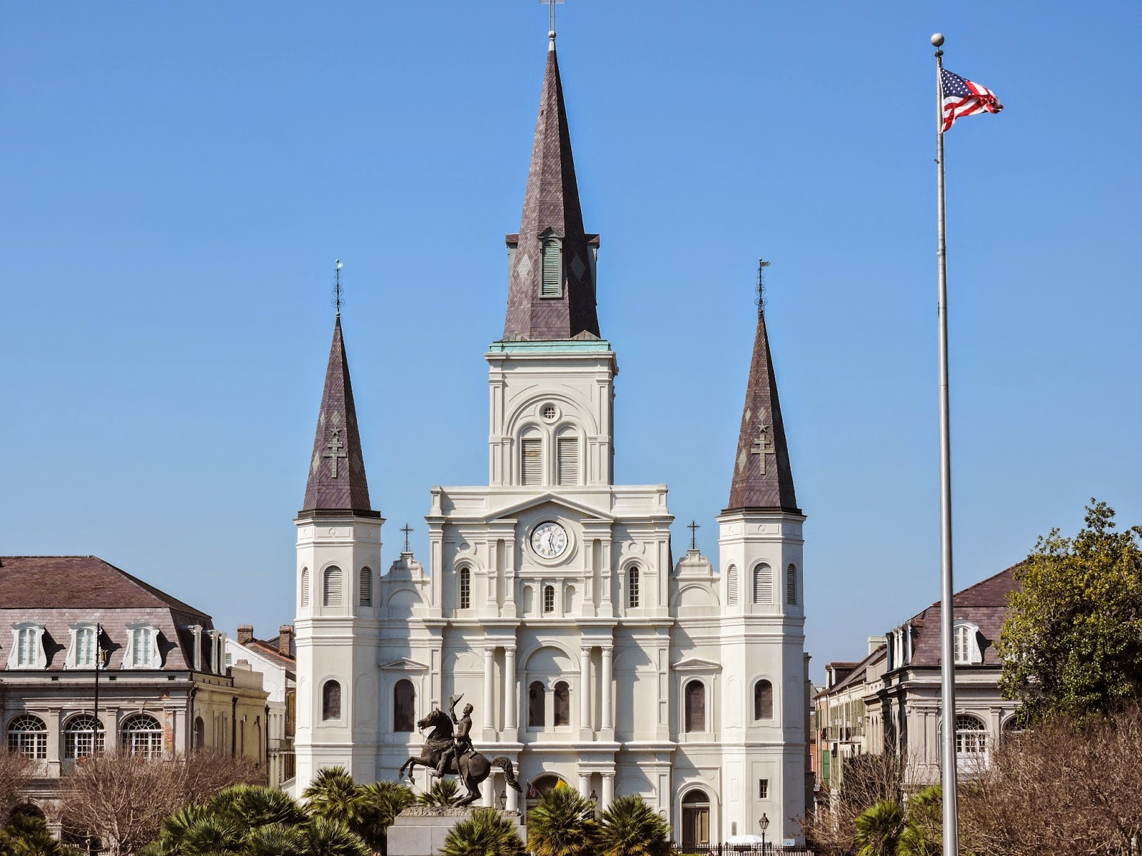 Jackson Square and St. Louis Cathedral | New Orleans, Louisiana