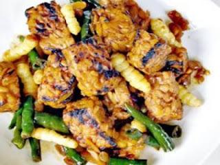 resep membuat tempe bakar jamur
