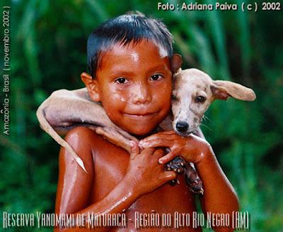 Aldeia Yanomami - Reserva de Maturacá. Foto por Adriana Paiva