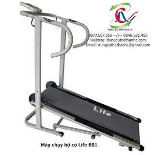 Máy chạy bộ cơ Life 801 giá rẻ