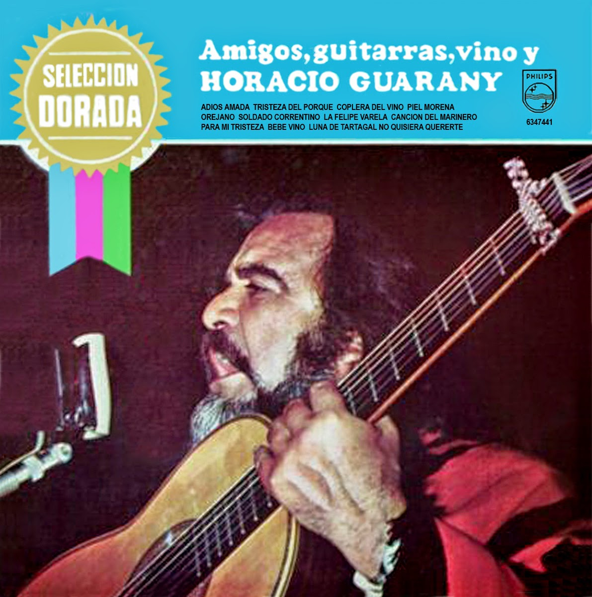 amigos hORACIO GUARANY TAPA
