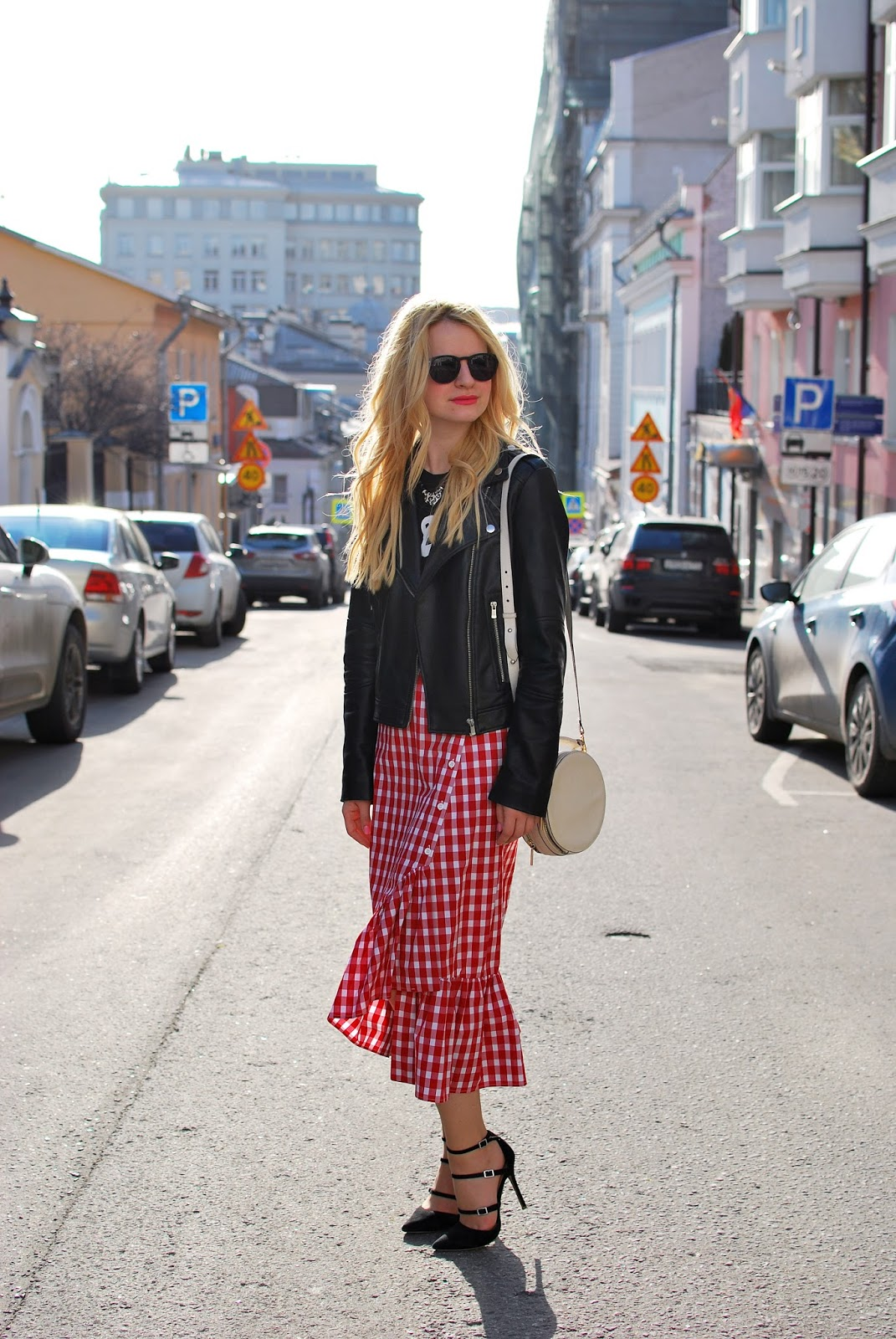 юбка в клетку идея, с чем носить юбку в клетку, гранж юбка, аутфит, модные образы