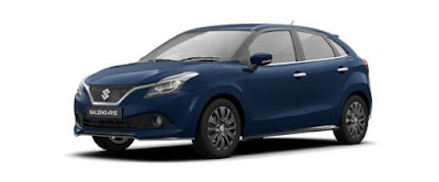 New 2017 Maruti Suzuki Baleno RS side look