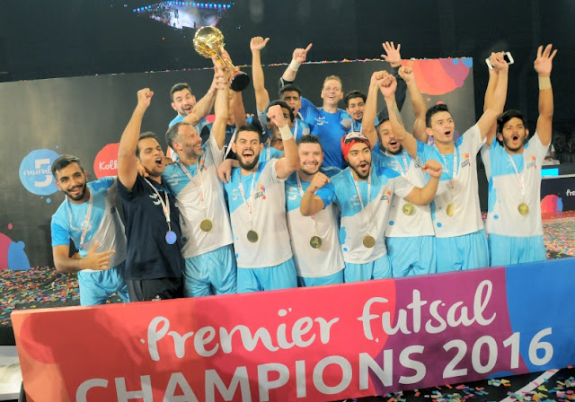 Mumbai beat Kochi to win Premier Futsal League