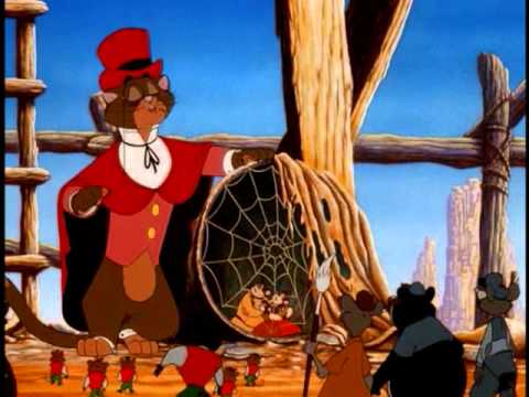Cat R. Waul and Chula An American Tail: Fievel Goes West 1991 animatedfilmreviews.filminspector.com