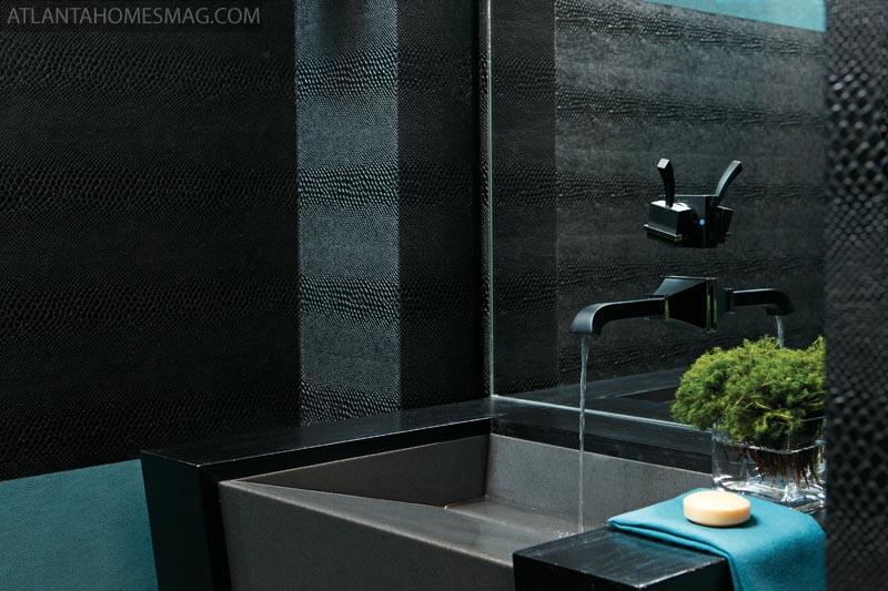 Glam Bathroom By Matthew Quinn: Interiorissimo: August 2011
