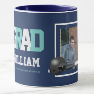 graduation photo mug man boy