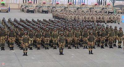 تهديدات اثيوبيا, مصر, وكالة روسية, الجيش المصرى, ترتيب جيش اثيوبيا,