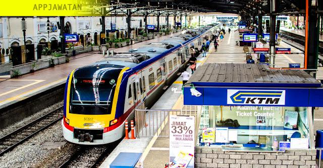Temuduga Terbuka di Keretaapi Tanah Melayu (KTMB) - Terbuka 2019
