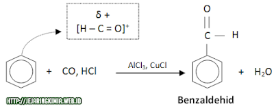 reaksi kimia senyawa benzena