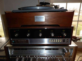 Elac Miracord 10 Turntable - Heathkit AA-15 As Preamplifier