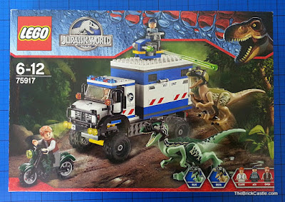 Raptor Rampage LEGO set 75917 review