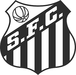 Vetor escudo Santos Corel draw .CDR gratis