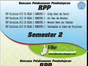 Download RPP Kurikulum 2013 SD Kelas 2 Semester 2 lengkap
