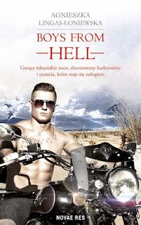Boys from Hell - Agnieszka Lingas-Łoniewska (nasz patronat medialny - PRZEDPREMIEROWO)