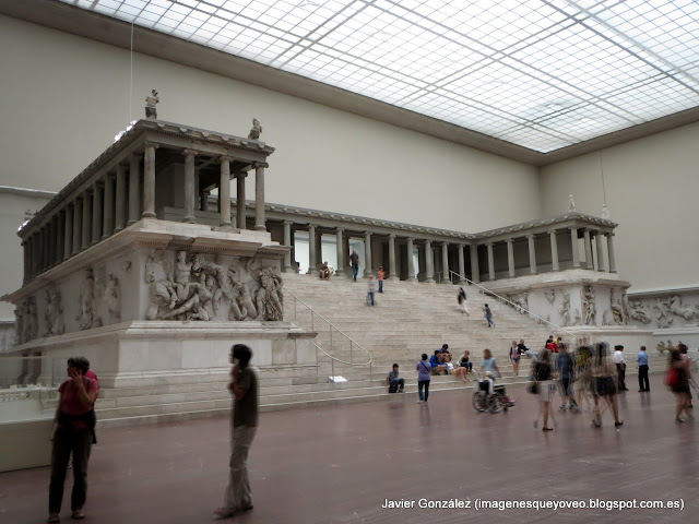 Altar de Zeus - Museo Pergamo - Berlín - Pergamon museum
