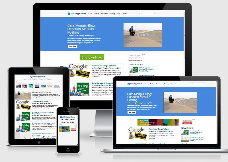 Beda Template Blog Premium Dengan Gratis