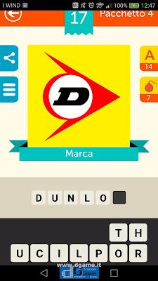 Iconica Italia Pop Logo Quiz soluzione pacchetto 4 livelli 17-75