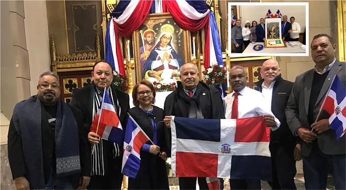 Autoridades consulares encabezan misas a La Altagracia en basílica de Boston y parroquia de Lawrence