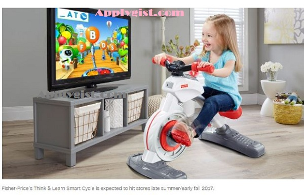 high-tech exercise bike for toddlers- new tech items