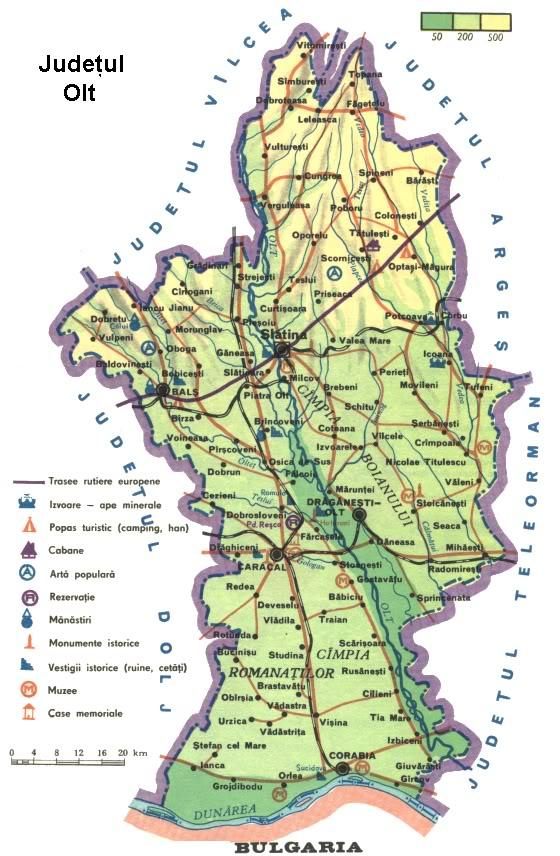Romania Live Slatina Caracal Live Webcam Harta Turistica Olt