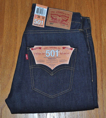 Levis 501-1995, Shrink-to-Fit, Made in USA, Cone Denim