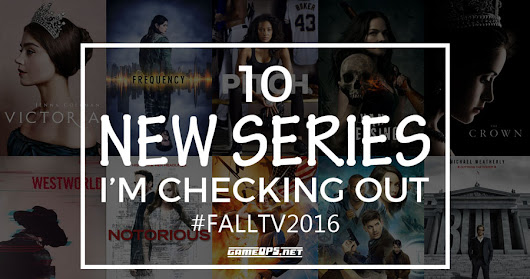FallTV: 10 New Series I'm Checking Out
