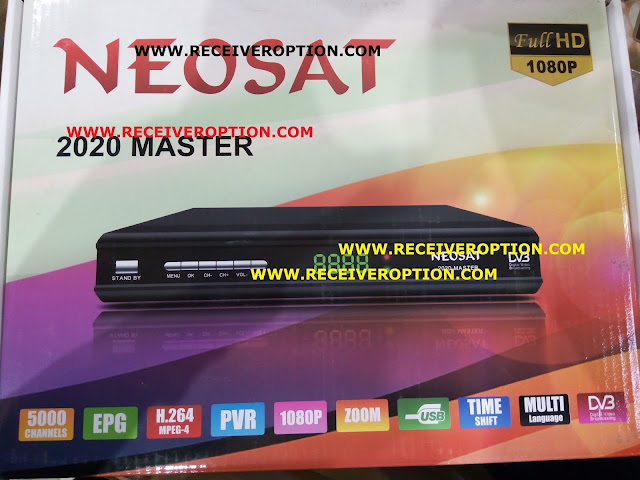 NEOSAT 2020 MASTER HD RECEIVER AUTO ROLL POWERVU KEY SOFTWARE