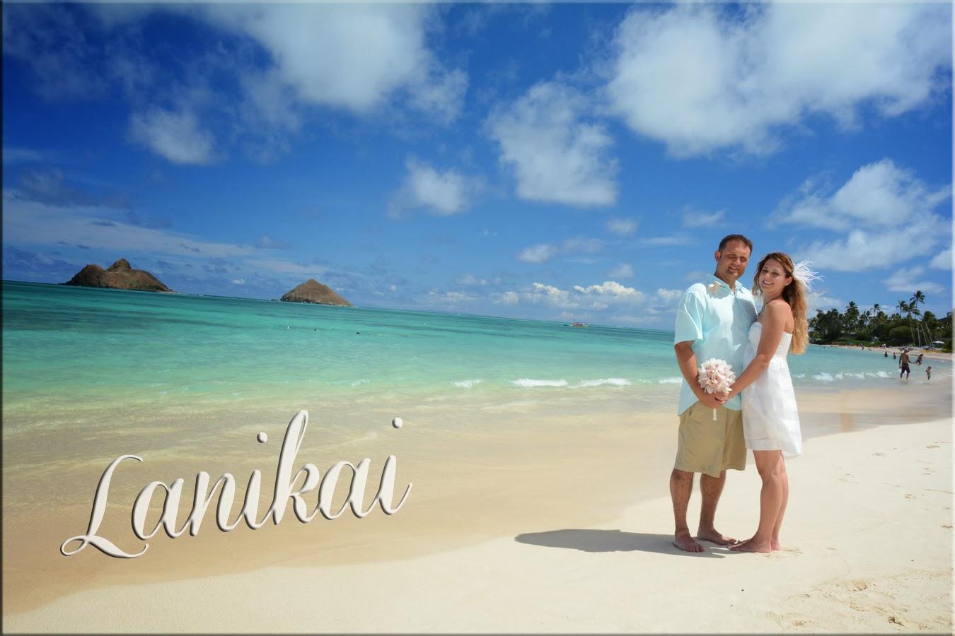 Brian Sandra Are Married At Lanikai Beach