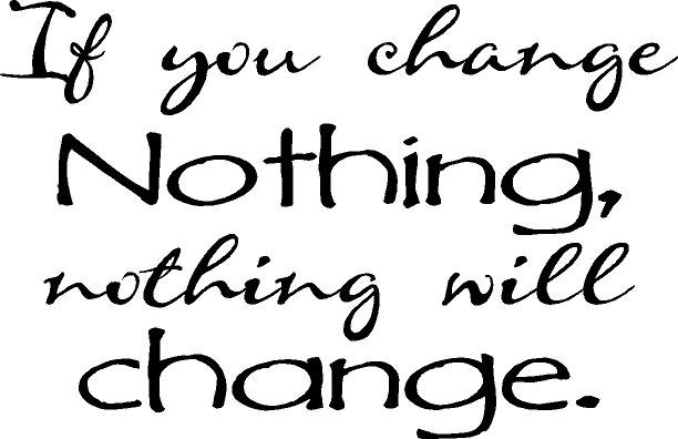 Nothing Can Change The Nature Of A Man
