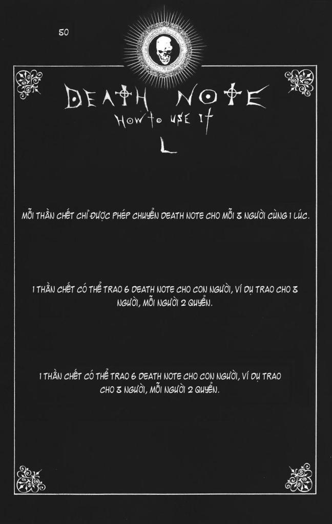 Death Note chapter 110 - how to use trang 53