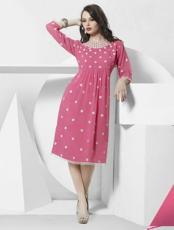 8f560a0237 It doesn't matter if you buy partywear kurtis online or go out to the malls  for shopping, the main thing that you should consider first is your body ...