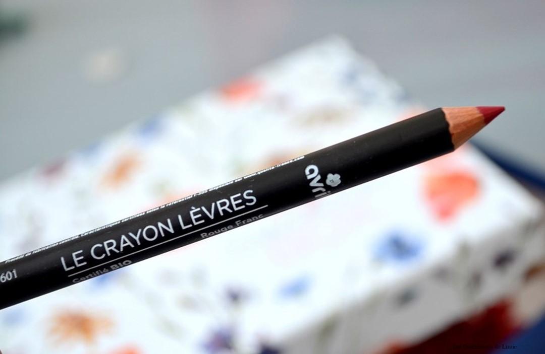 Box - box beauté - box lifestyle - Sweetie - bio - naturel - cosmétiques bio - cosmétiques naturels - Avril - Avril Cosmetiques - Crayon pour les lèvres bio