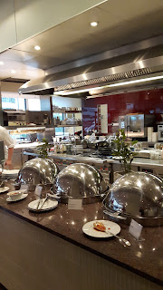 offenes Küchen-Konzept im Sheraton Frankfurt Airport
