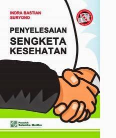 Buku Penyelesaian Sengketa Kesehatan