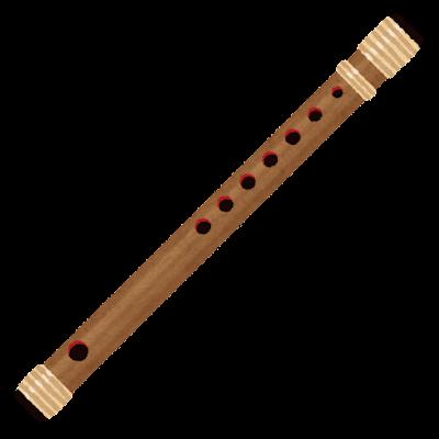篠笛のイラスト