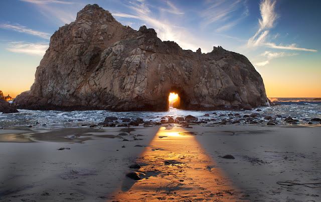 Roteiro por Big Sur na Califórnia