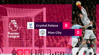 Manchester City Tertahan di Kandang Crystal Palace