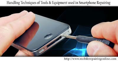 cell phone repair diagnostic tool
