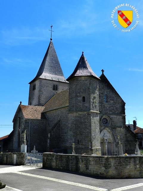 URVILLE (88) - Eglise de la Translation de Saint-Martin (XIIe-XVIe siècle)