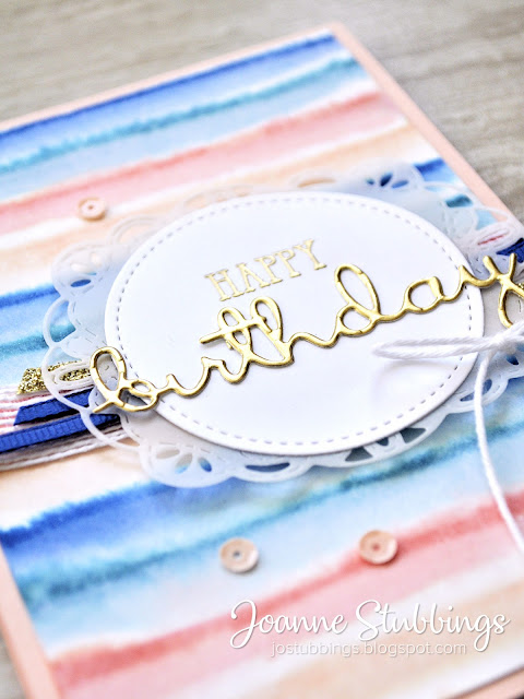 Jo's Stamping Spot - Colour INKspiration Challenge #CI060 using Well Said bundle by Stampin' Up!