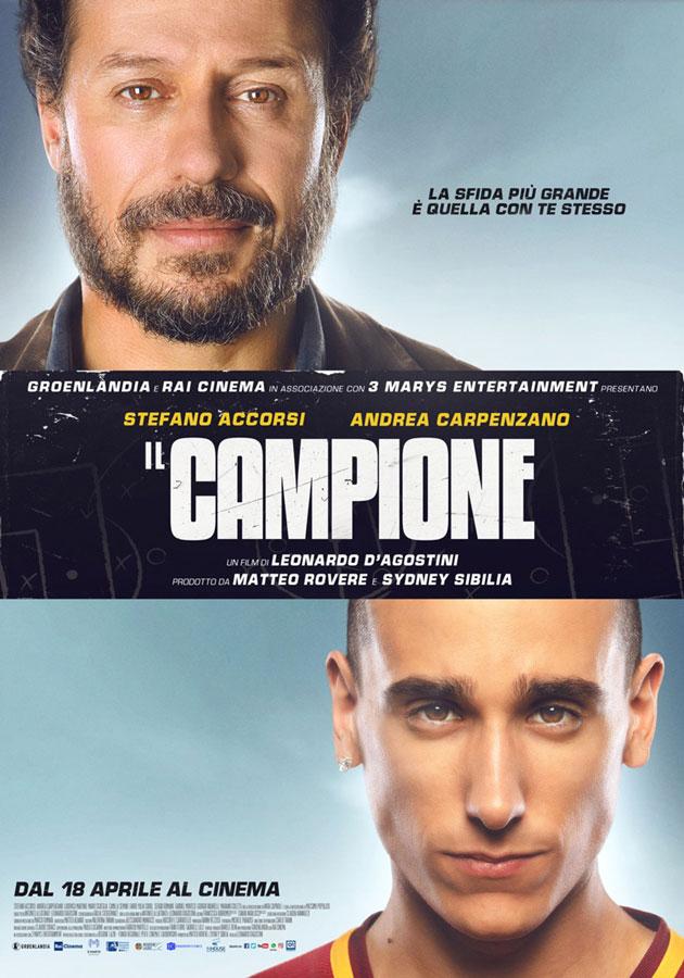 locandina film 2019 il campione