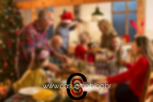 É o Natal da Família Padrão Brasileira...